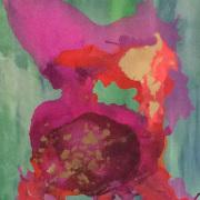 Abstrakte Malerei von Julia Zürbig aus Köln